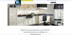 Nieuwe website voor Keukens De Abdij