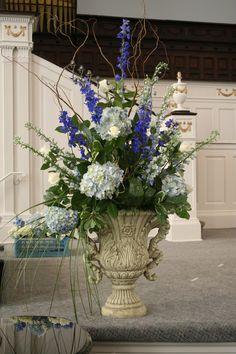podium floral arrangement