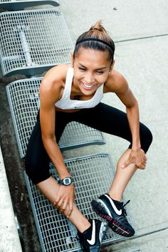 Exercise >> endorphins >> happiness!