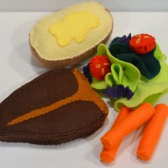 Hey, I found this really awesome Etsy listing at https://www.etsy.com/listing/206128807/felt-food-steak-dinner-childrens-play