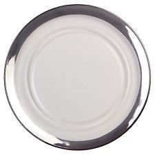 white and silver plates google search