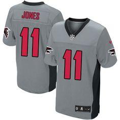 New Youth Grey Shadow Nike Elite Atlanta Falcons http    11 Julio Jones 0ba845e70
