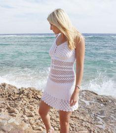 Crochet tunic PATTERN crochet beach dress by FavoritePATTERNs
