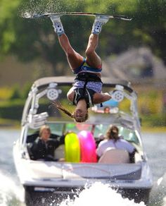 My Goal! hahahaa She's 18 and the 2011 Female Wakeboarder of the Year! Surely it doesn't matter that she is half my age!