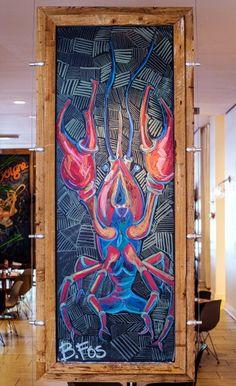 B. Fos Chalk Art at Borgne