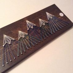 Mountain String Art,