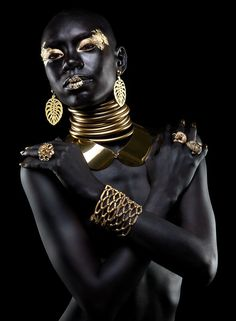 """ Editorial de Jóia by Guto Esteves Shai'La Yvonne, model "" This really took my breath away. She looks like a real Goddess. "" Editorial de Jóia by Guto Esteves Shai'La Yvonne, model "" This really took my breath away. She looks like a real Goddess. African Beauty, African Fashion, African Art, Black Goddess, Goddess Art, Black Gold Jewelry, Foto Art, Makeup Photography, Editorial Photography"