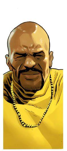 Luke Cage by Daniel Acuna Comic Books Art, Comic Art, Book Art, Carl Lucas, Marvel Heroes, Marvel Comics, Luke Cage Jessica Jones, Luke Cage Marvel, Misty Knight