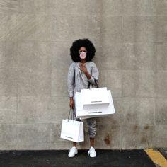 Arlenis Sosa for #VogueInstaFashion by Michael O'Neal