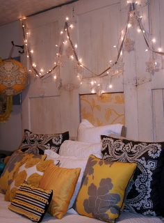 Find out how to use holiday string lights all year long!