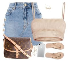 """""""Of course"""" by amickens1210 on Polyvore featuring Topshop, Hot Topic, Louis Vuitton and Aéropostale"""