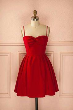Red dress valentine's day fashion