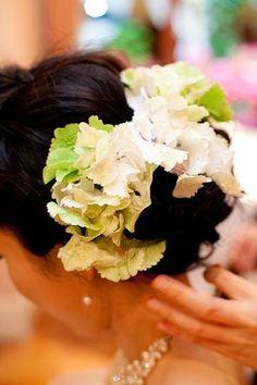 新郎新婦様からのメール 5月のアマリリス ASO様へ : 一会 ウエディングの花