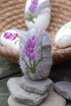 wool felt soap   Felted Soap Fine Merino Wool Lavender In by BondurantMountainArt