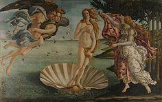 The Birth of Venus, 1486. Uffizi, Florence by Bottoceli