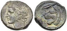 Sicilia, Leontini, Tetradracma, c. 455-422 ...