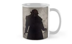 "Murnau ""Nosferatu""' Mug by RedHillPrints Sci Fi Horror, Gothic Horror, Framed Prints, Canvas Prints, Art Prints, Art Boards, Duvet Covers, Coffee Mugs, Fans"