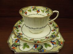 AYNSLEY A3892 TRIO CUP SAUCER PLATE