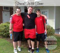 Travel with teens ca