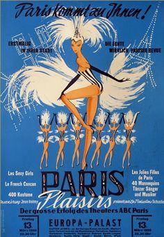 Anonymous, 1 9 5 9, Paris Plaisirs!