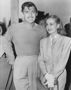 Clark Gable and Carole Lombard...He was never the same after she died in a plane crash  at the age of 33 in a plane crash while returning from a World War II Bond tour