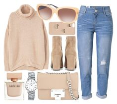 """""""Neutral"""" by smartbuyglasses ❤ liked on Polyvore featuring MICHAEL Michael Kors, MANGO, Coach, WithChic, Longines, Jimmy Choo, Yves Saint Laurent, Narciso Rodriguez, beige and neutral"""