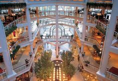The Gallery Mall. Baltimore Inner Harbor. Maybe when it's just us