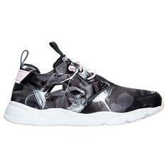 414acd7fc07ca8 Women s Reebok Furylite Floral Print Casual Shoes