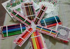 Estojo para lápis de cor com capa personalizada do livro. Capacidade para pelo menos 72 lápis R$ 49,00 + frete interessados enviem email para abdodan@hotmail.com
