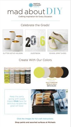 Mad About DIY: Celebrate the Grads!