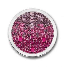 Mi Moneda Swarovski Cascada Disc in Hot Pink Large #MiMoneda