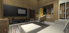 PROJETO 100 m2   SALA / COZINHA 3D 04