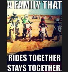 <3 dirt bike family
