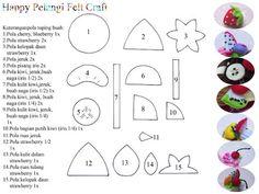 Happy Pelangi Felt Craft: Felt Pattern ala Happy Pelangi