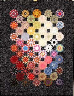 OMG. Gorgeous. Quilting is truly an art and should be viewed with the same respect as painting, drawing, sculpture, etc.