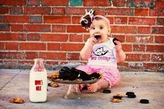 Remember the milk - Birthday Cake Smash Ideas Worth Stealing for Your Little One - Photos