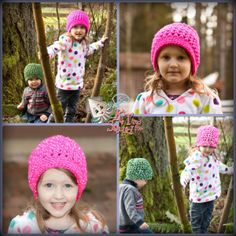 Free crochet pattern. Walkabout Slouch by KT and the Squid (childs)