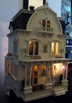 When I was a little girl, I wanted a doll house.  We were too poor.  May I have this one please?  It's perfect.