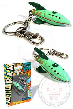 Buy Futurama Planet Express Ship Keychain at TinToyArcade.com