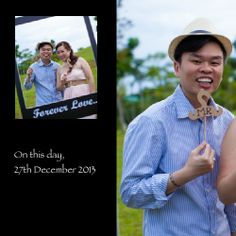 10th wedding anniversary 27Dec2013 (Hardcover Imagewrap 200x200mm Perfect Bind)