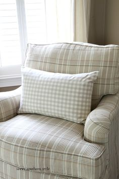 Mixing Patterns in the Master and New Drapes Savvy Southern Style, Decorating Small Spaces, Pattern Mixing, French Country, Bed Pillows, Pillow Cases, Home And Garden, Cottage, Architecture
