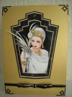 Art Deco Lady                                                                                                                                                                                 More