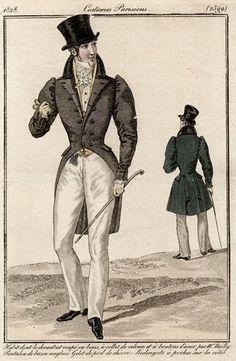 Costume Parisiens 1828