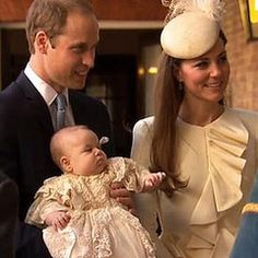 All About Prince George's Christening