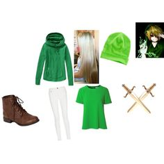 Creepy Pasta BEN DROWNED Cosplay by ceciliashy on Polyvore featuring Athleta, True Decadence, Proenza Schouler, Breckelle's and Ralph Lauren