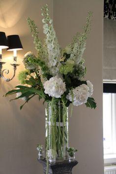 Flower Design Wedding Ceremony Styling: Tall Column Shaped Vases for Ceremony Framing Hotel Flower Arrangements, Winter Floral Arrangements, Artificial Floral Arrangements, Fall Flower Arrangements, Vase Arrangements, Flower Centerpieces, Flower Vases, Hotel Flowers, Tall Flowers