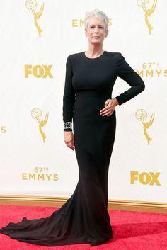Emmys 2015. Jamie Lee Curtis in Stella McCartney
