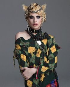 Rupaul Drag, Mix Match, Costume Design, Face And Body, Style Icons, Aquarium, Punk, Photoshoot, Style Inspiration