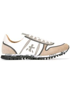 Shop Premiata White Simon sneakers .