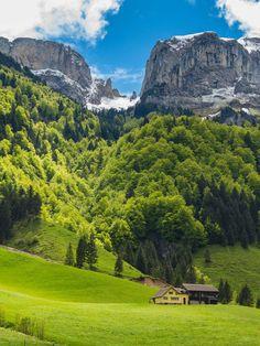 Bogartenlücke by Peter Boehi at Appenzell Innerhoden, Switzerland